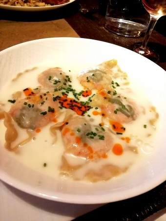 Ravioles de crevettes © Gourmets&co