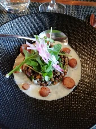 Salade de lentilles © Gourmets&co .