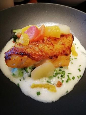 Haddock rôti, poireaux © Gourmets&co
