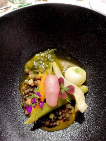 Lentilles, légumes, jus de légumes © Gourmets&co