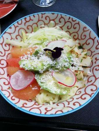 Blanc de seiche grillé en salade thaï © Gourmets&co