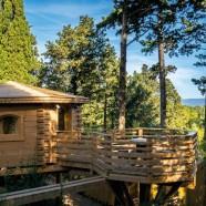 Les Cabanes dans les Bois – Bonnes Etapes dans l'Aude