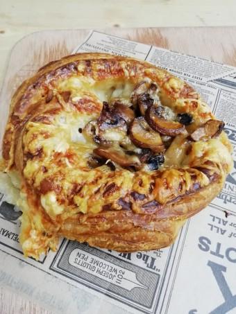 Feilleté champignons _ Comté © Gourmets&co
