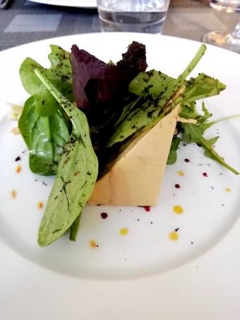 Foie gras, gelée de pommes © Gourmets&co .