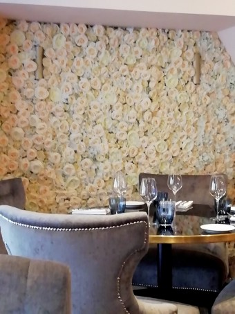 Mur de roses © Gourmets&co