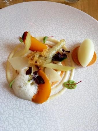 Tartelette aux légumes anciens © Gourmets&co .