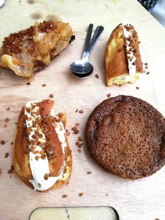 Trois desserts © Gourmets&co