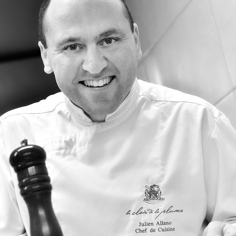 Chef Julien Allano