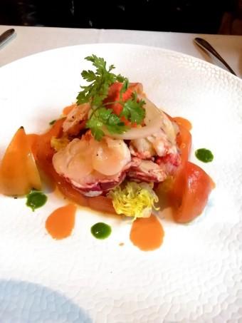Langouste, tomates © Gourmets&co