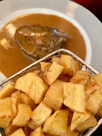 Pommes de terre sautées et chateaubriand © Olivia Goldman.