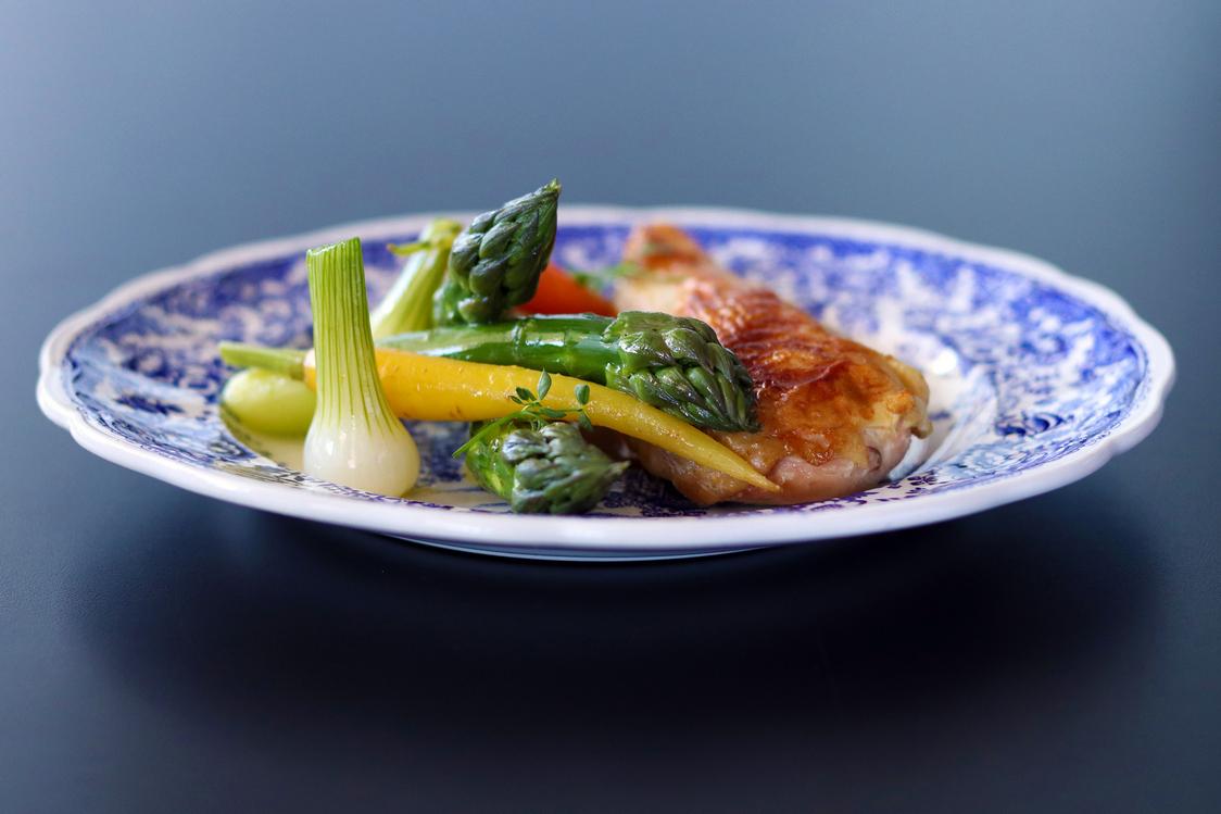 Filet de volaille, sauce Albufera-2