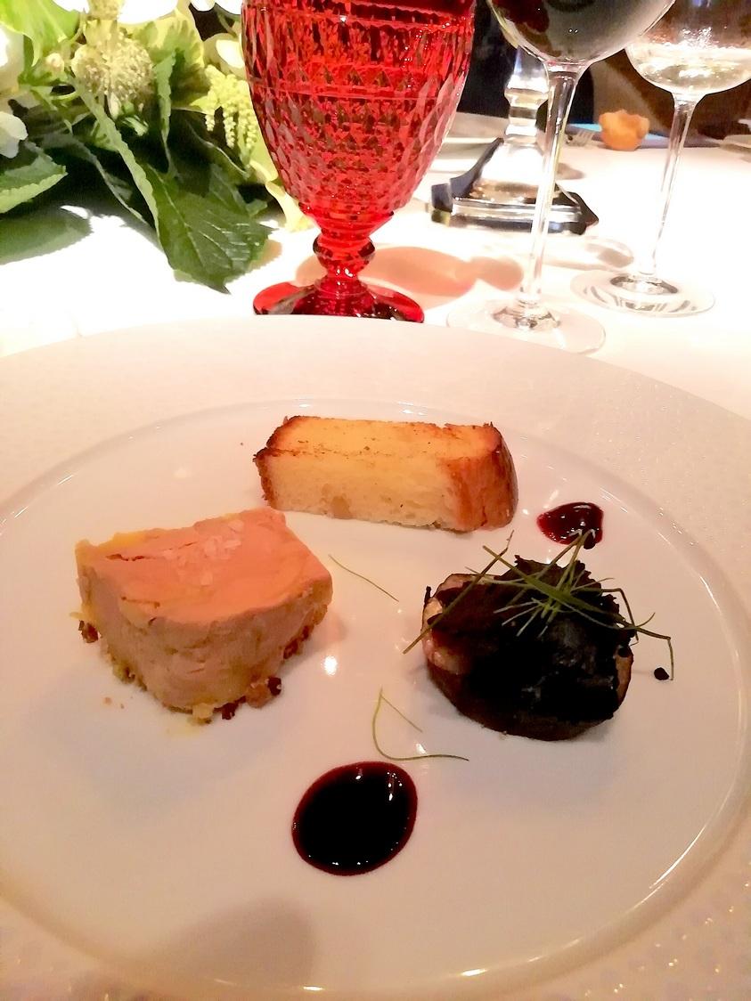 Terrine de foie gran , figues © Gourmets&co .