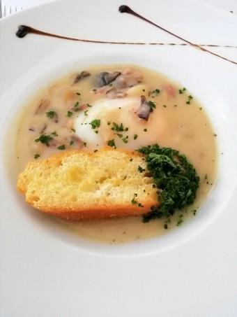œeuf parfait, crémant de Bourgogne © Gourmets&co