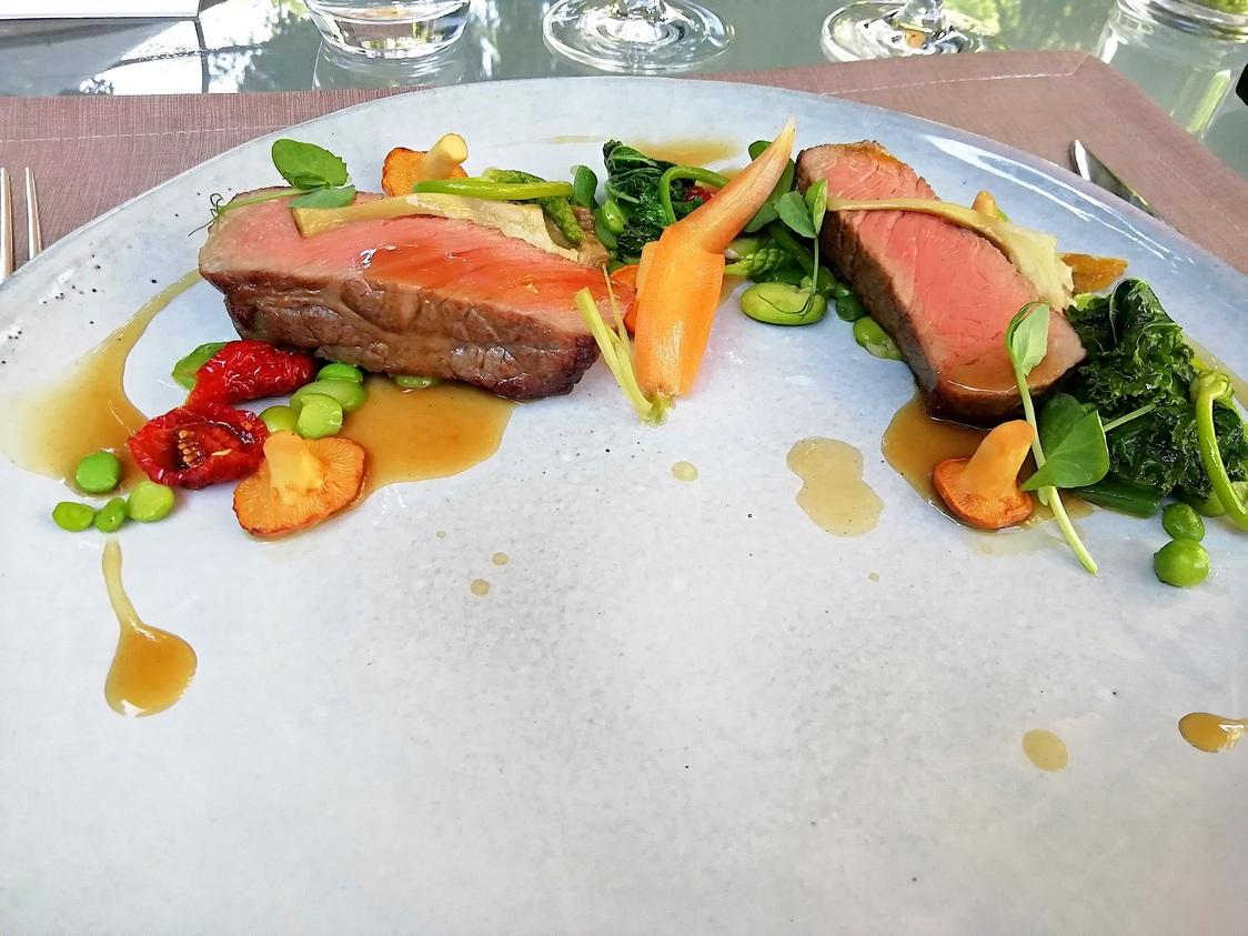 Bœuf charolais, légumes de Printemps © Gourmets&co