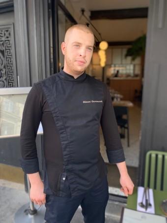 Chef Clément Courtemanche © Olivia Goldman