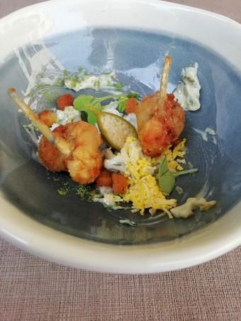 Jambonettes de grenouilles, sauce gribiche © Gourmets&co