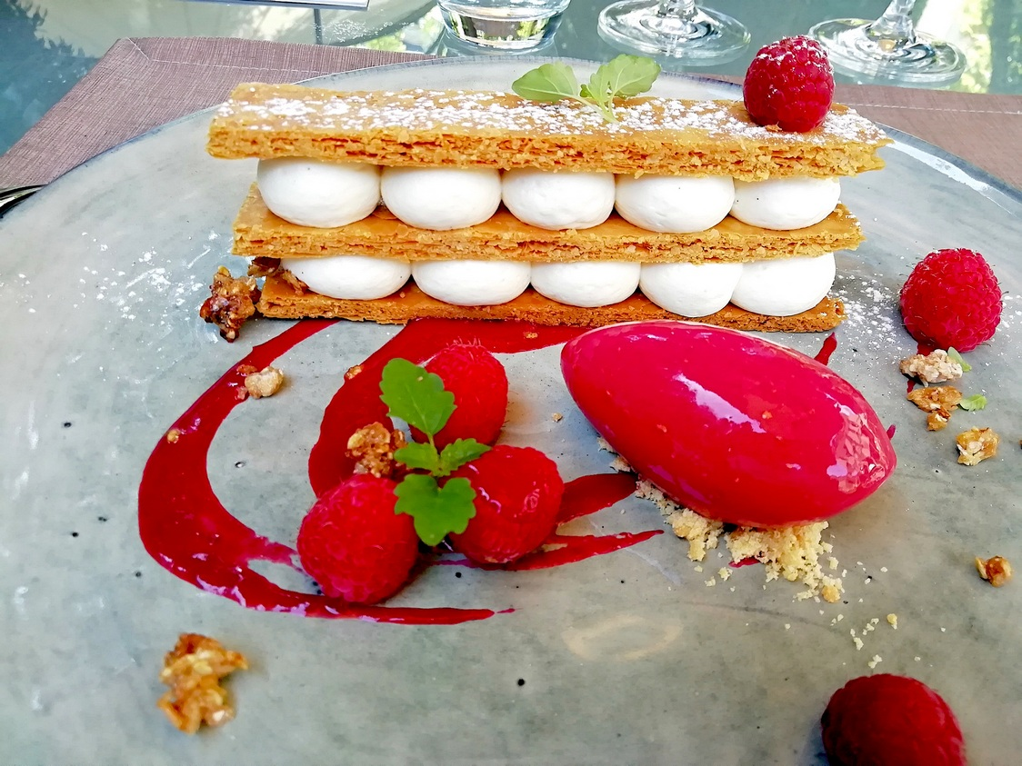 Millefeuille framboises © Gourmets&co