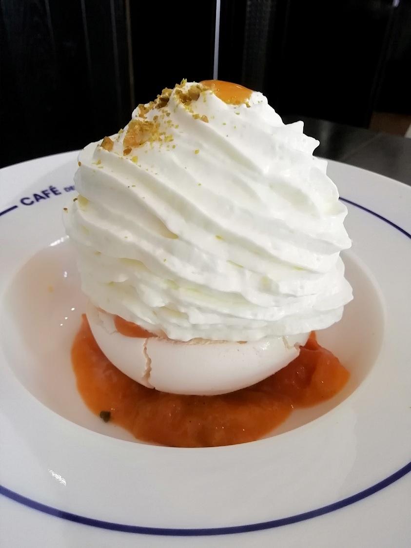 Pavlova abricots © Gourmets&co