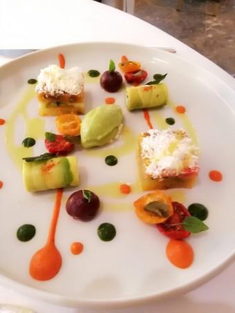Salade grecque à notre façon © Gourmets&co
