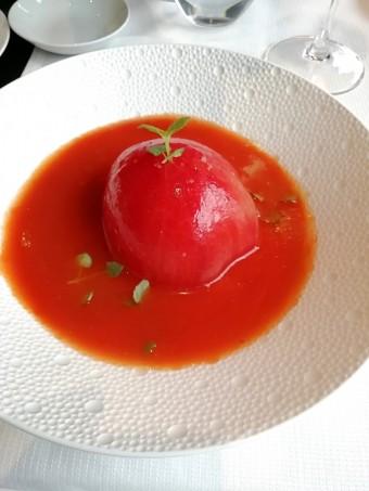 Soupe de tomates, brousse © Gourmets&co