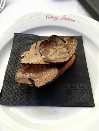 Tartine de truffes © Gourmets&co