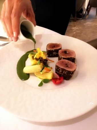 Thon grillé aux épices © Gourmets&co