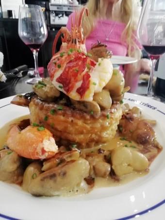 Vol au vent Grande Tradition au homard © Gourmets&co