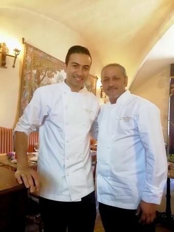 Franco Bowanee (à g.) et son second Retesh © Gourmets&co