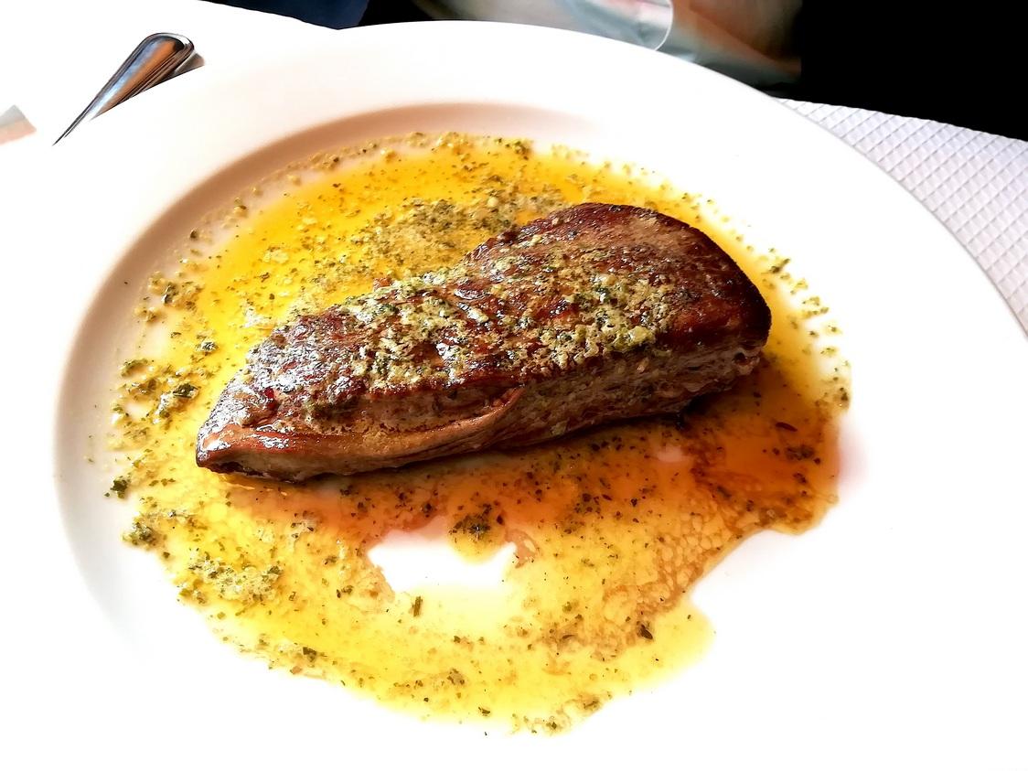 Steak poêlé sauce Bistrot de la Gare © Gourmets&co