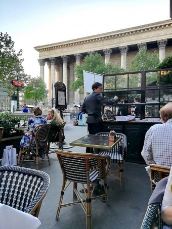 terrasse avec vue © Gourmets&co .