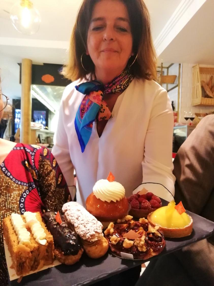 Plateau des desserts © Gourmets&co