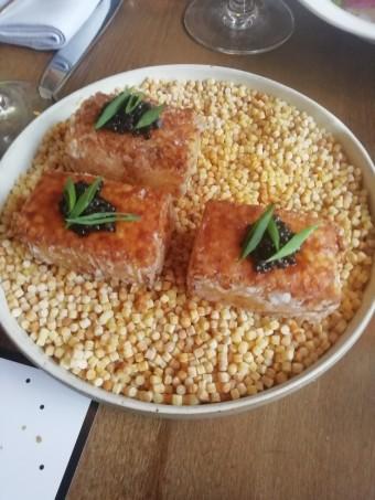 Tapioca frit, caviar