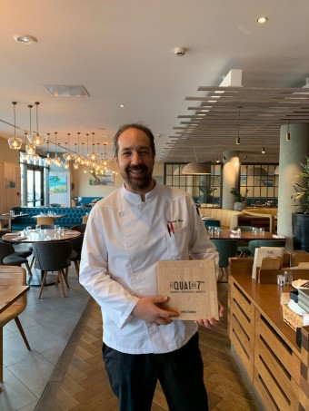 Chef Laurent Skora © Olivia Goldman