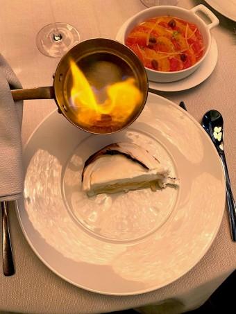 Flambage au cassis © Olivia Goldman
