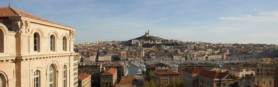 Marseille vu de l'hôtel