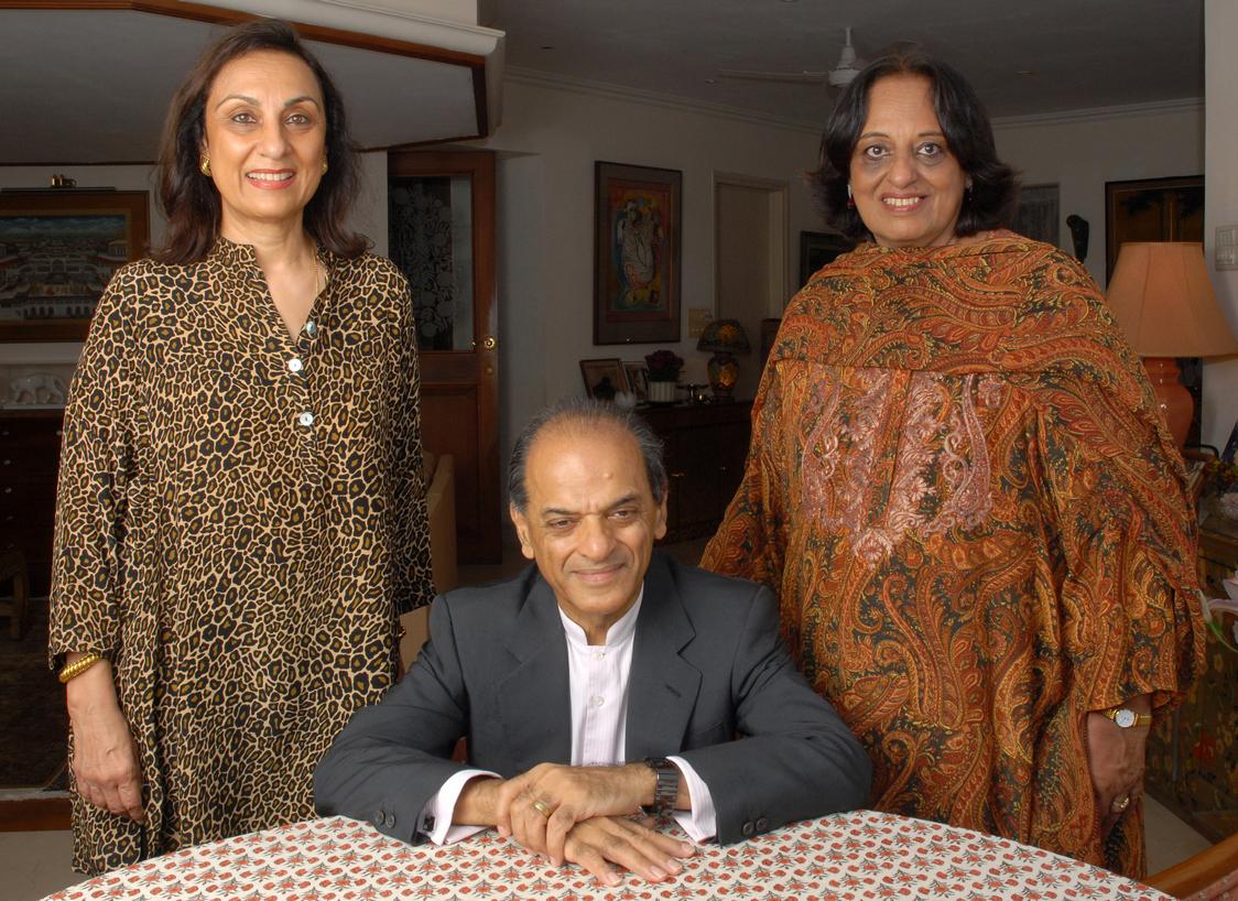 Namita, Ranjit & Camelia Panjabi cropped 3