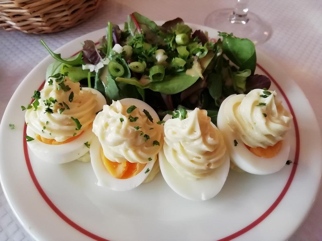Oeufs mayonnaise. © Gourmets&co pg