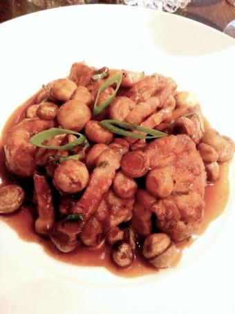Ris de veau forstière © Gourmets&co