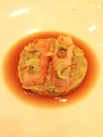 Avocat grillé, langoustines © Gourmets&co