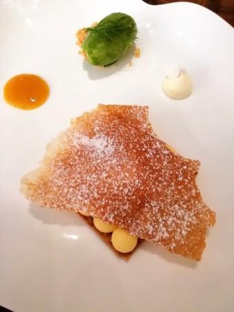 Mousse de citron, feuillantines © Gourmets&co