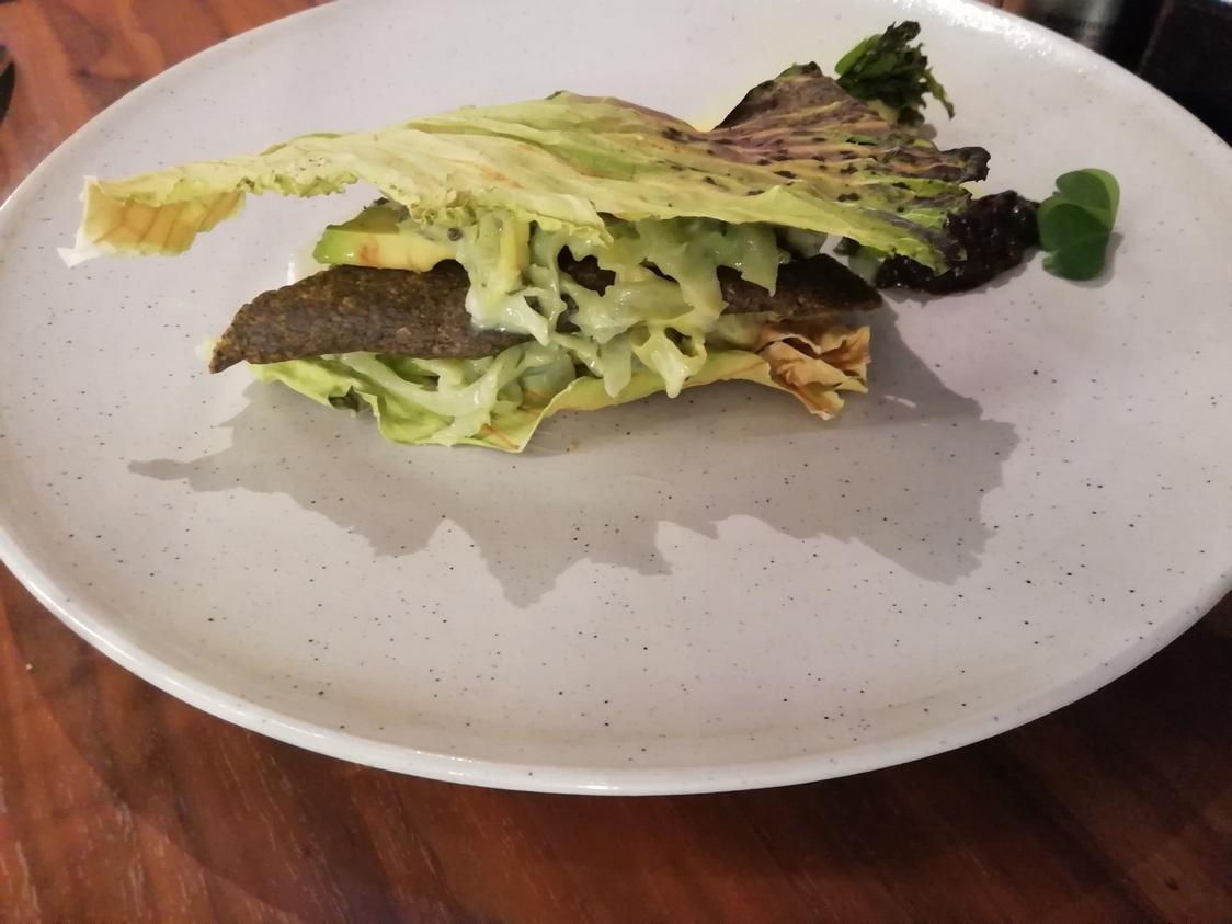 Chou de Pontoise, algues, Yuzu © Gourmets&co