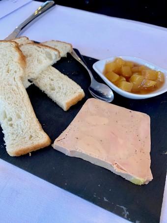 Foie gras mi-cuit maison © Olivia Goldman .