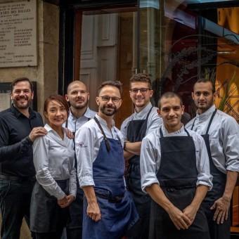 La Belle Equipe. Chef Romain Le Cordroch (au centre)