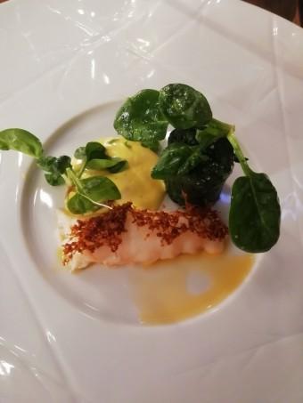 Langoustine, carribosse, épinards © Gourmets&co
