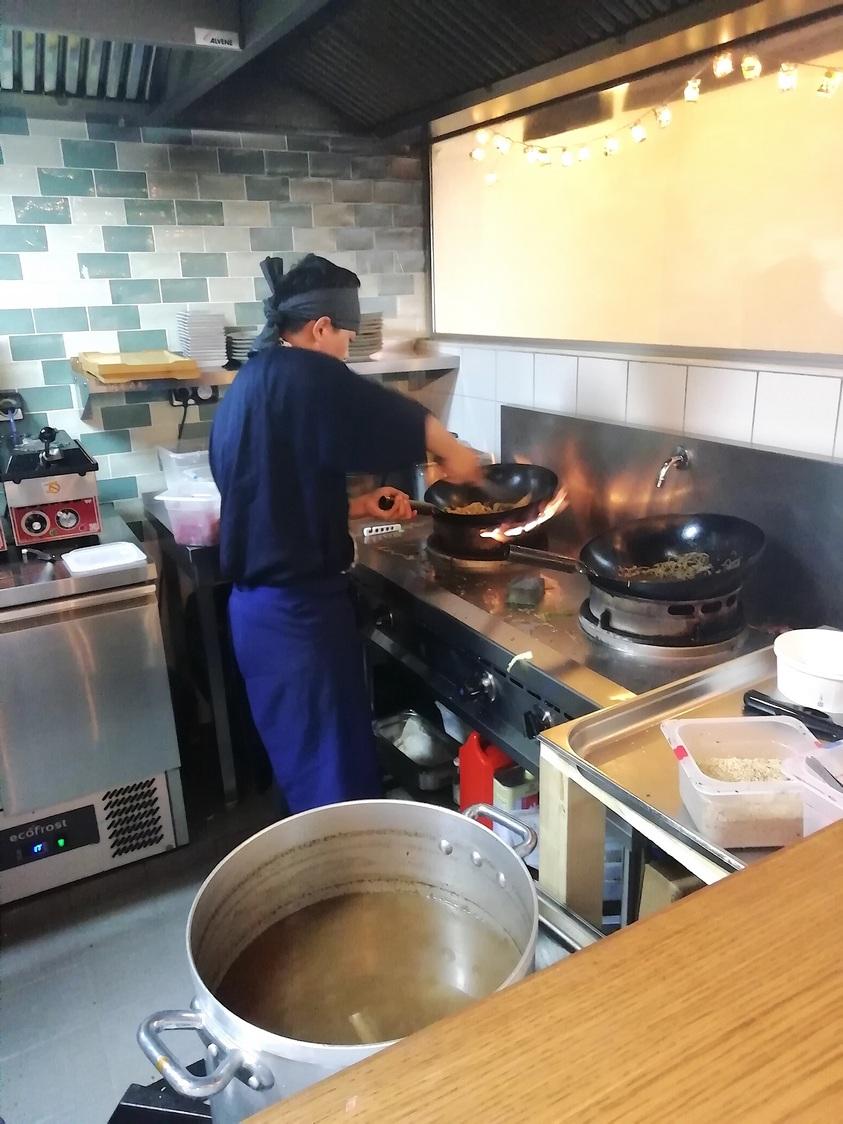 Le feu des cuisiens © Gourmets&co