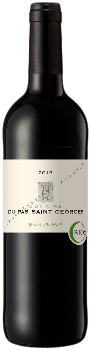 Bordeaux Domaine Du Pas Saint-Georges rouge 2019