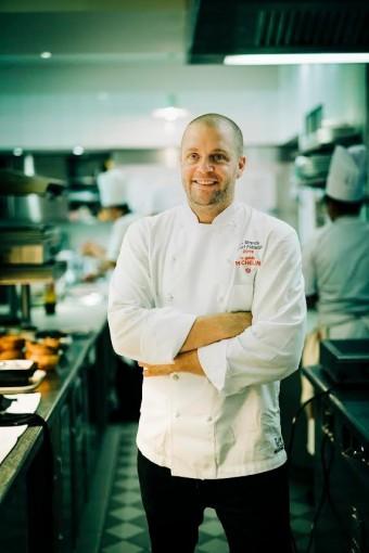 Le chef Florent Pieětravalle