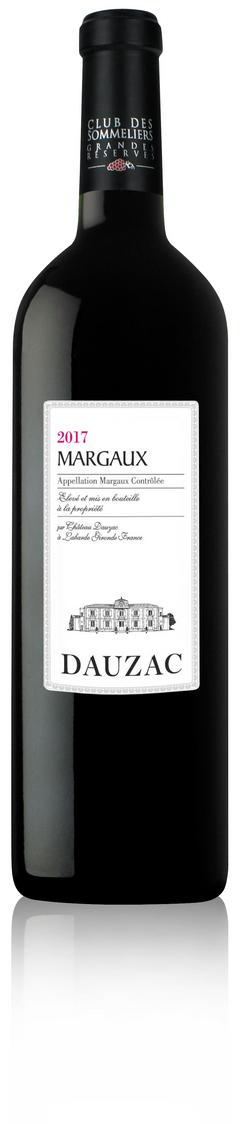 Margaux Château Dauzac CDS Grandes Réserves rouge 2017