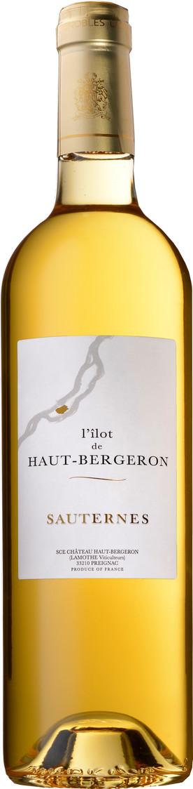 Sauternes L'Ilôt De Haut Bergeron blanc 2017