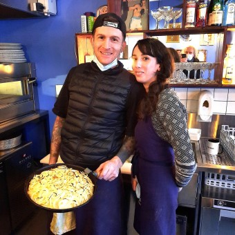 Mr et Mme Pizza argentine. © Patrick Faus